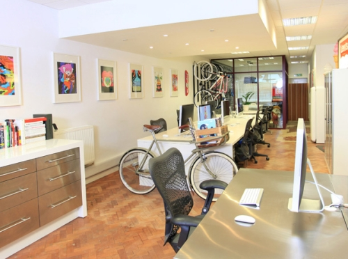 I Love Dust Creative Design Boutique Office Southsea